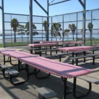 picnic area at Middle Harbor Shoreline Park Oakland